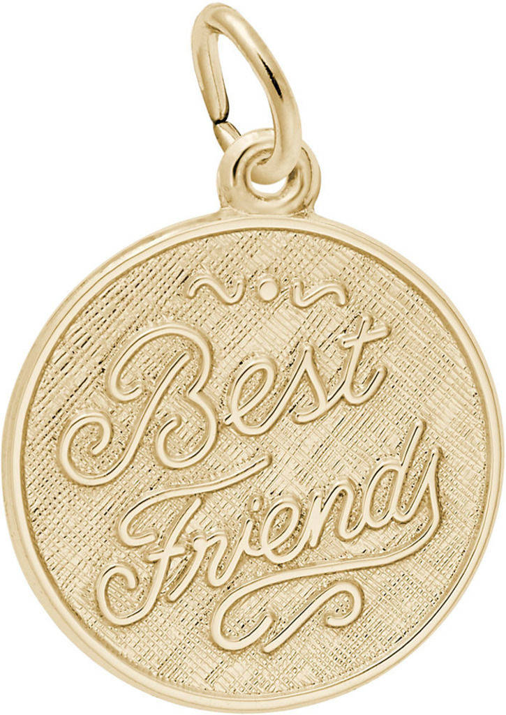 Best Friends Charm (Choose Metal) by Rembrandt