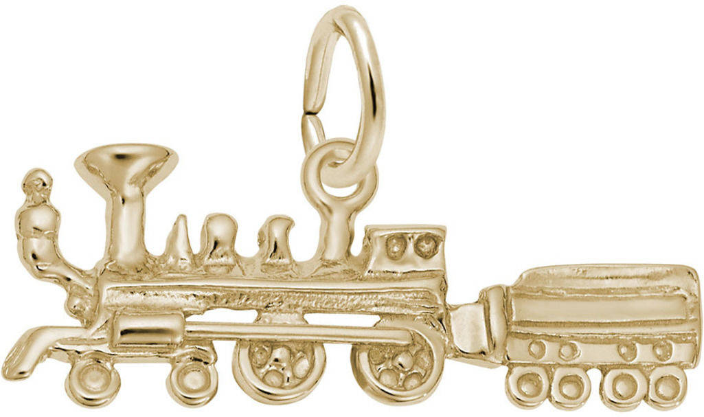 Steam Train Charm (Choose Metal) by Rembrandt