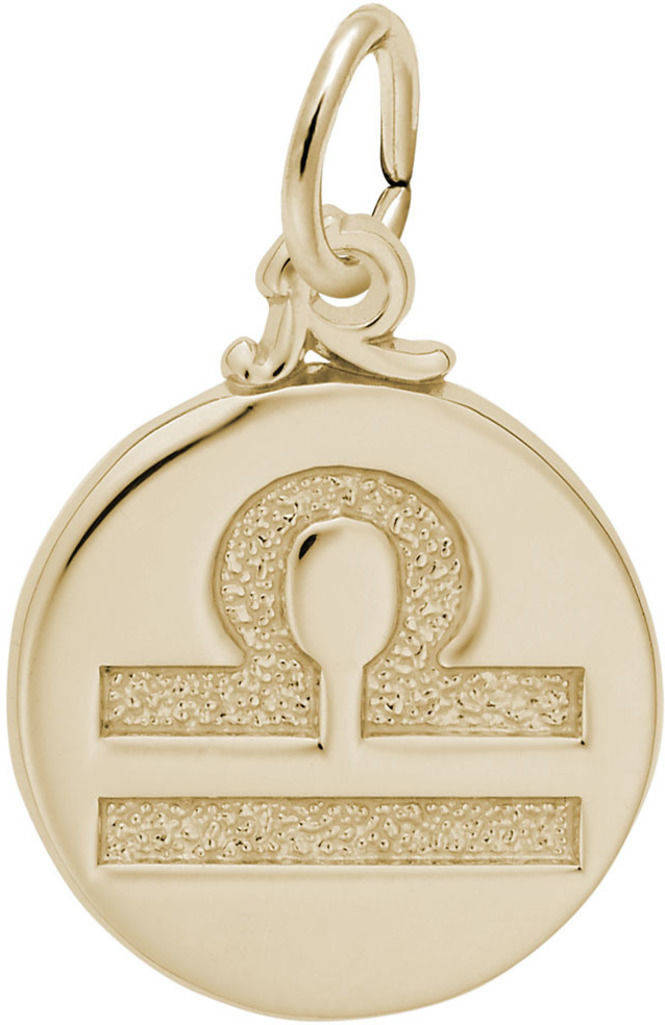 Libra Symbol Of The Sky Charm Choose Metal By Rembrandt
