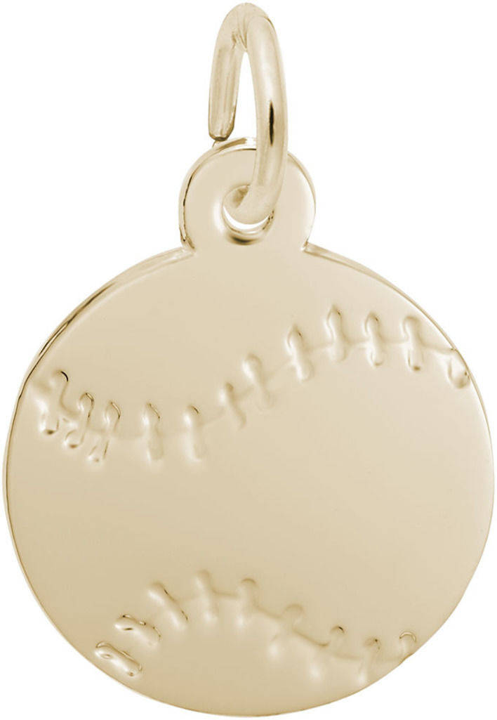 Baseball Charm (Choose Metal) by Rembrandt