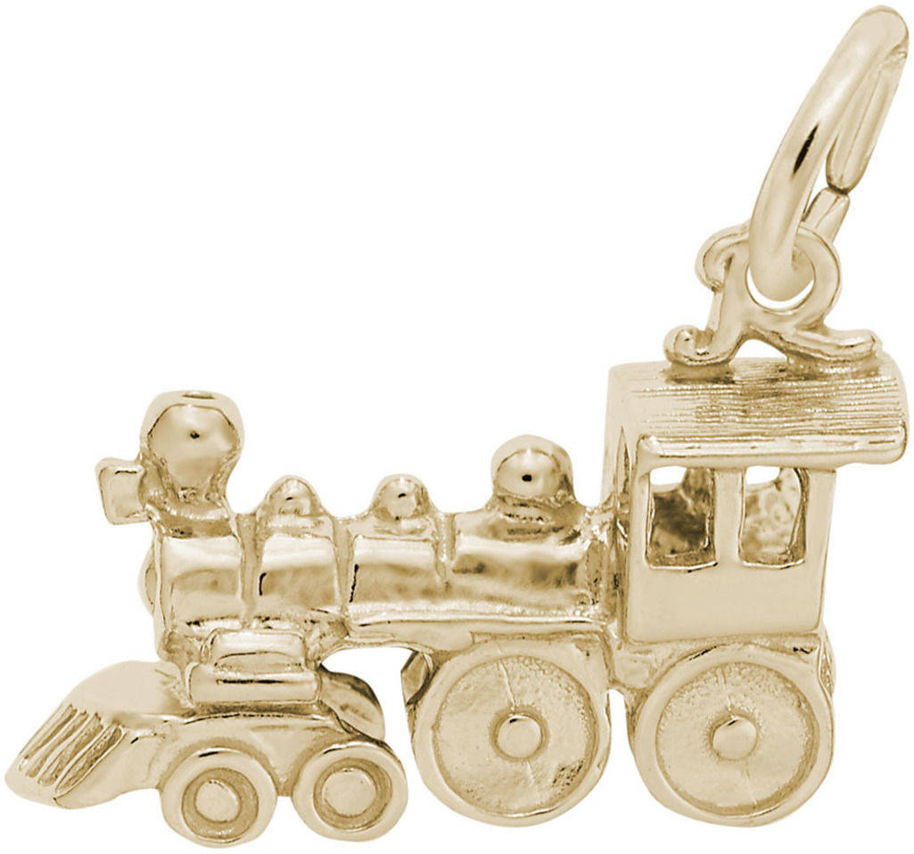 Train Charm (Choose Metal) by Rembrandt