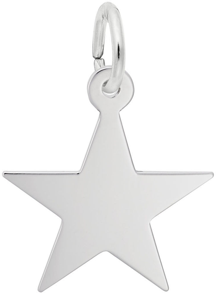 Classic Star Charm (Choose Metal) by Rembrandt