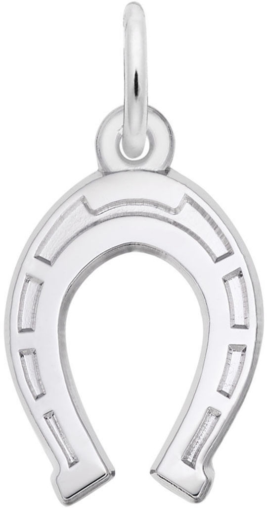 Horseshoe Charm (Choose Metal) by Rembrandt