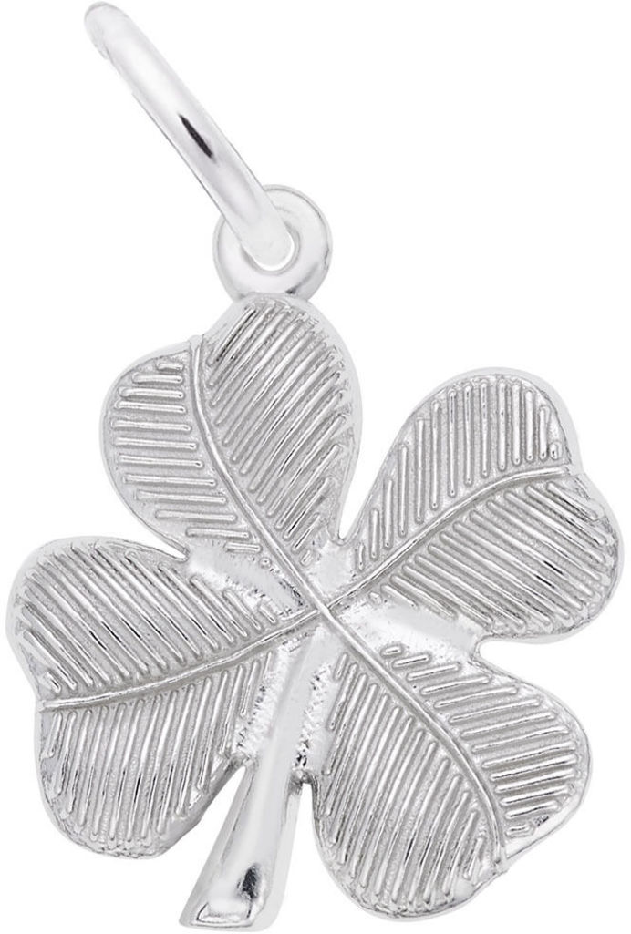 Four Leaf Clover Charm (Choose Metal) by Rembrandt