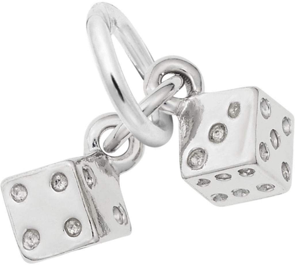 Dice Charm (Choose Metal) by Rembrandt