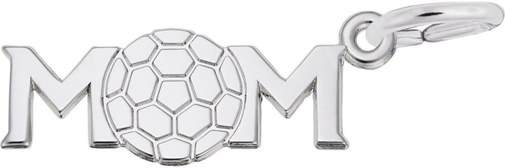 Soccer Mom Charm (Choose Metal) by Rembrandt