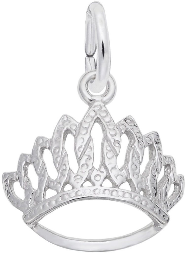 Tiara Charm (Choose Metal) by Rembrandt