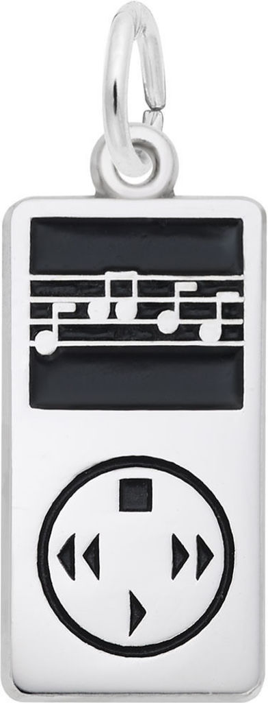 MP3 Player Charm (Choose Metal) by Rembrandt