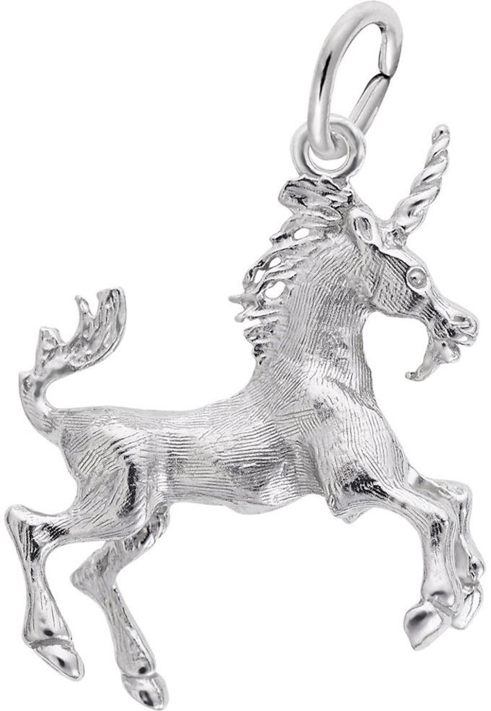 Prancing Unicorn Charm (Choose Metal) by Rembrandt
