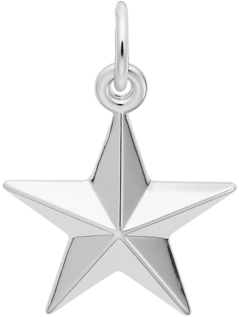 Star Charm (Choose Metal) by Rembrandt