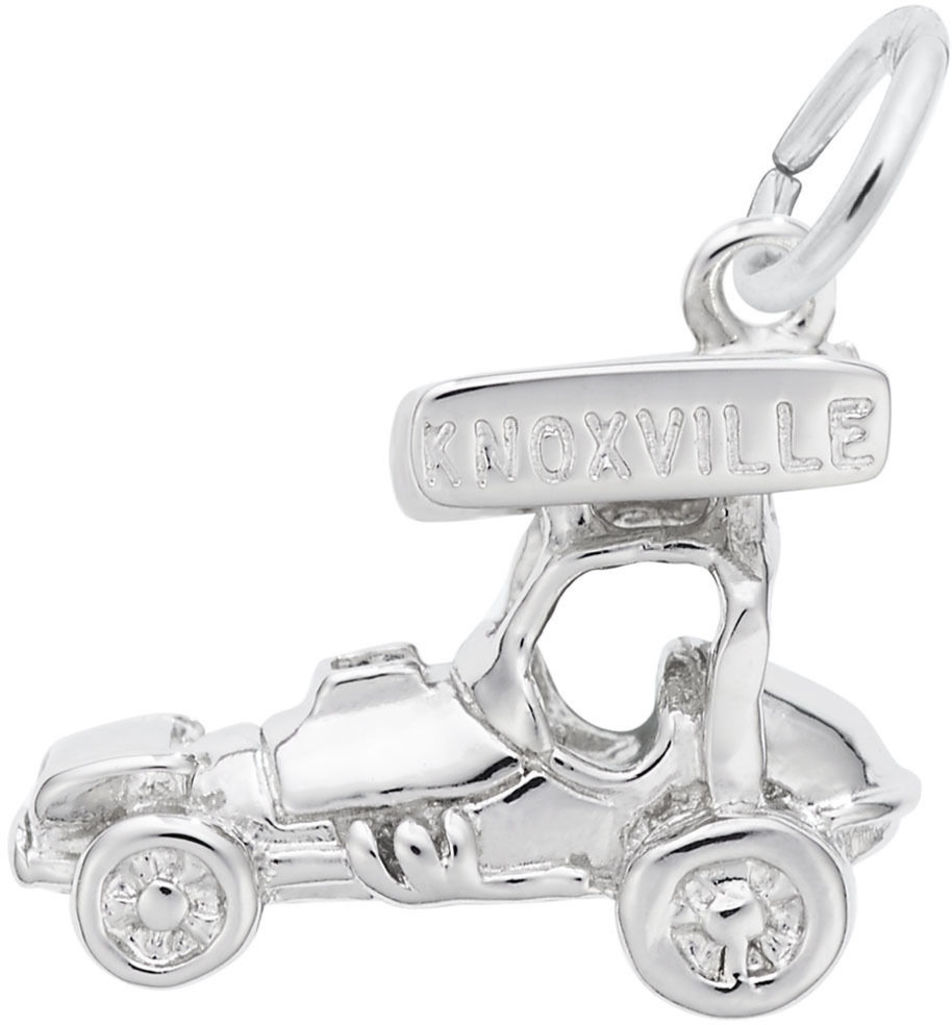 Knoxville Sprint Car Charm (Choose Metal) by Rembrandt