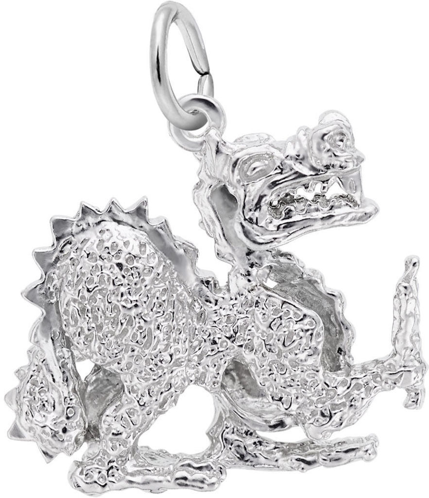 Chinese Dragon Charm (Choose Metal) by Rembrandt