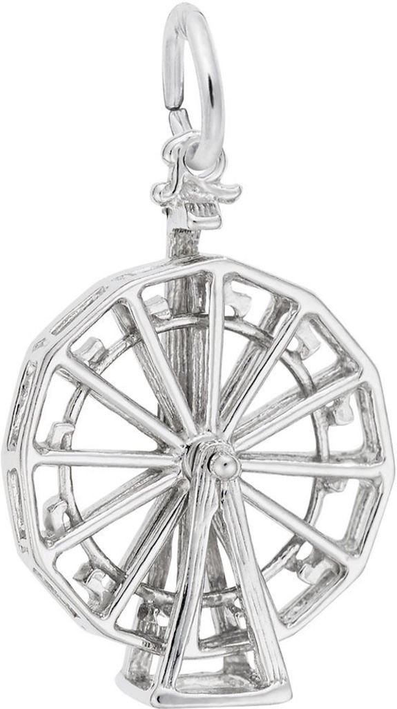 Ferris Wheel Charm (Choose Metal) by Rembrandt