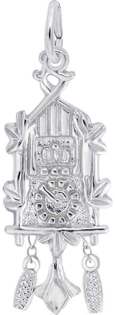 Cuckoo Clock Charm (Choose Metal) by Rembrandt