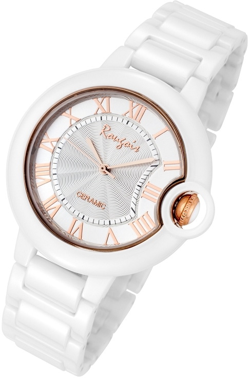 Rougois Cloud Series Rose Gold Cumulus Large Face Watch