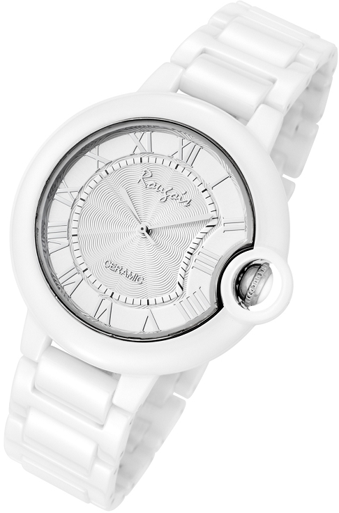Rougois Cloud Series Silver Stratus Large Face Watch