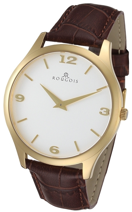 Rougois Gentry Series Stainless Steel Gold Tone Watch
