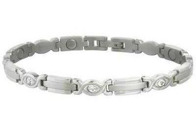 Sabona Lady Executive Silver Gem Magnetic - Ladies Executive Bracelet