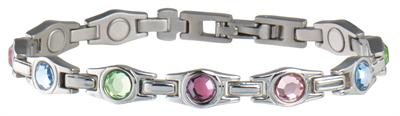 Sabona Lady Executive Multicolor Gem Magnetic - Ladies Executive Bracelet