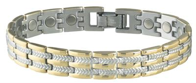 Sabona Executive Regal Duet Magnetic - Men's Executive Bracelet