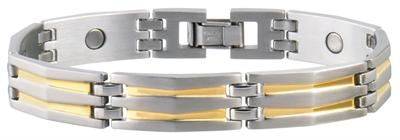 Sabona Silhouette Duet Magnetic - Men's Executive Bracelet