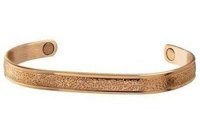 Sabona Pebbled Copper Magnetic Bracelet
