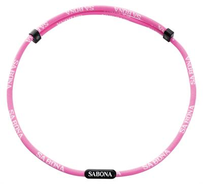 Sabona Sports Athletic Necklace Pink