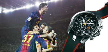 Seiko Sportura Watches, official partner watches of the FC Barcelona, on sale now at BillyTheTree.com