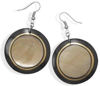 Inlay Shell Fashion Earrings