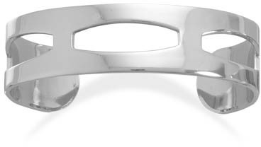 Cut Out Fashion Cuff Bracelet - DISCONTINUED