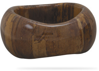 Banana Bark Bangle