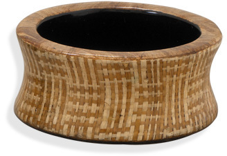 Concave Wood Bangle