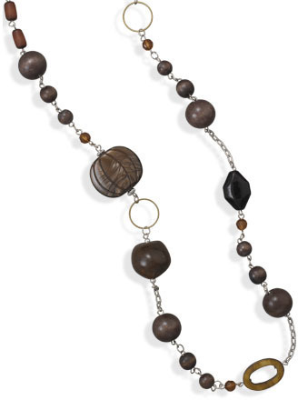 "38"" Multibead Endless Fashion Necklace - DISCONTINUED"