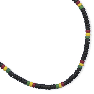 "16"" Coco Bead Fashion Necklace- DISCONTINUED"