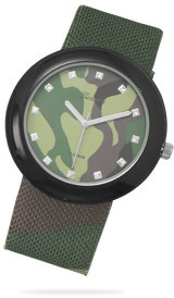 Green Camo Fashion Watch