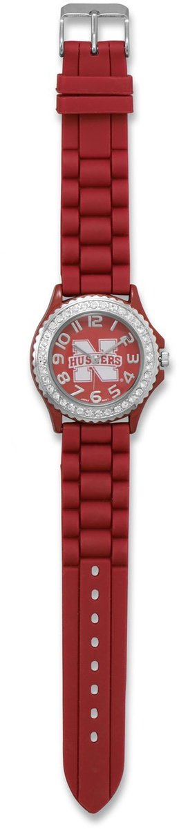 Collegiate Licensed University of Nebraska Ladies Fashion Watch