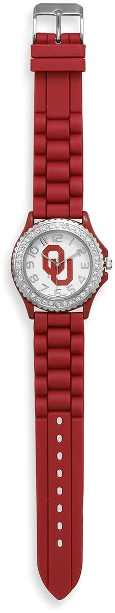 Collegiate Licensed University of Oklahoma Ladies Fashion Watch