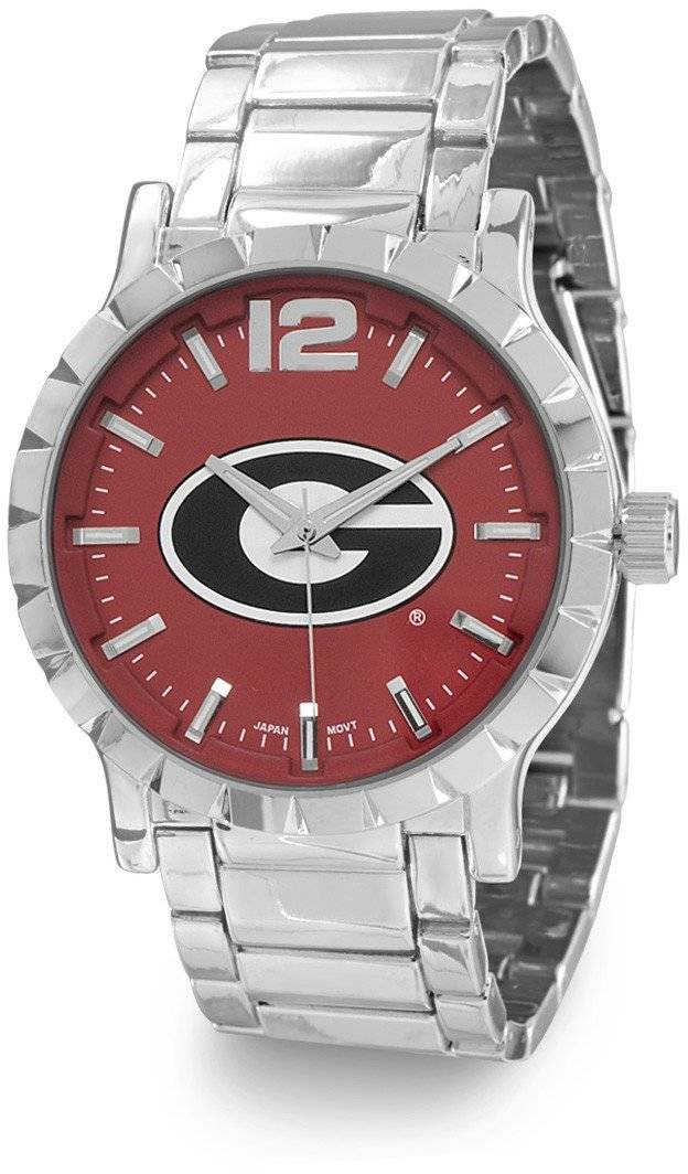 Collegiate Licensed University of Georgia Mens Fashion Watch