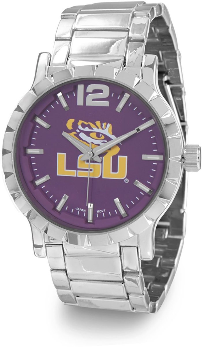 Collegiate Licensed Louisiana State University Mens Fashion Watch