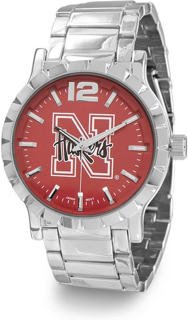 Collegiate Licensed University of Nebraska Men's Fashion Watch