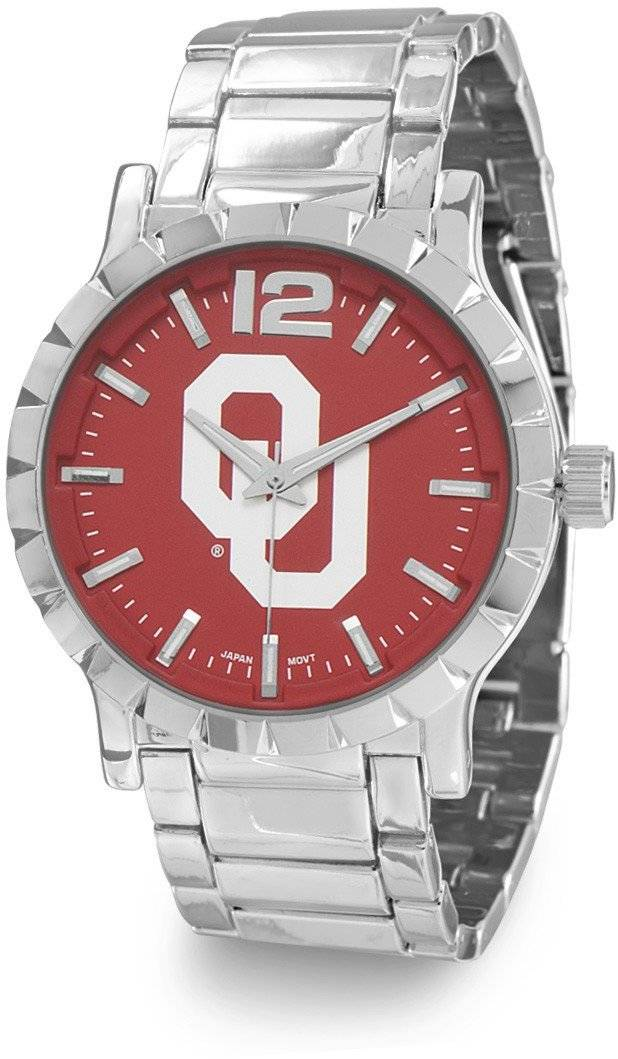 Collegiate Licensed University of Oklahoma Mens Fashion Watch