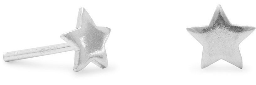 Star Stud Earrings 925 Sterling Silver