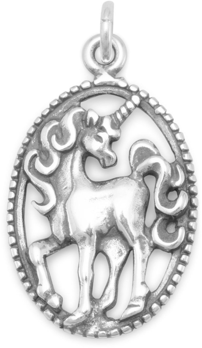Unicorn Charm 925 Sterling Silver