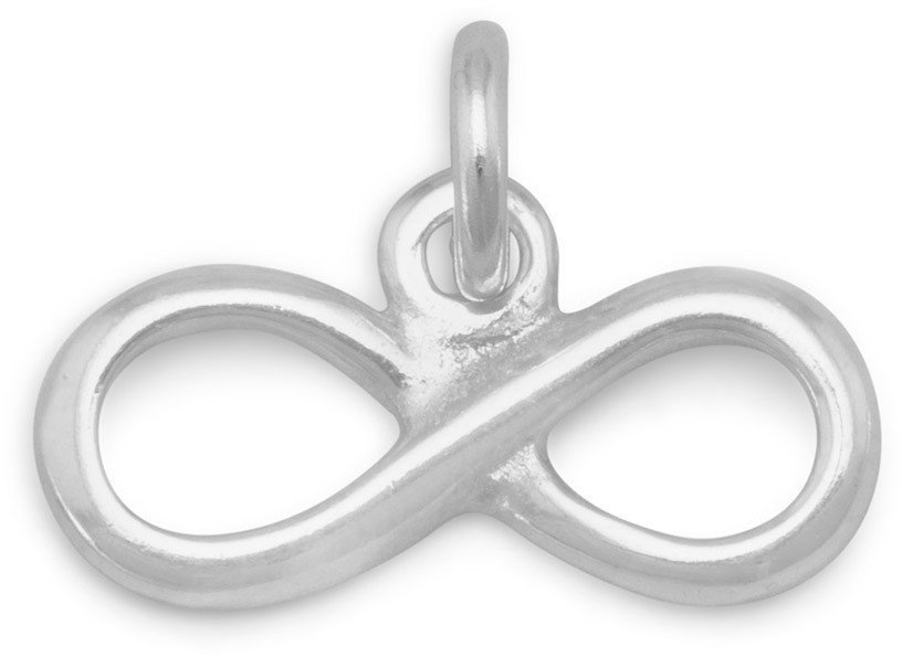 Infinity Charm 925 Sterling Silver