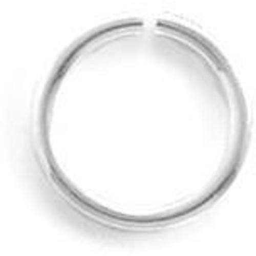 "6mm (1/4"") Open Jump Ring 925 Sterling Silver"