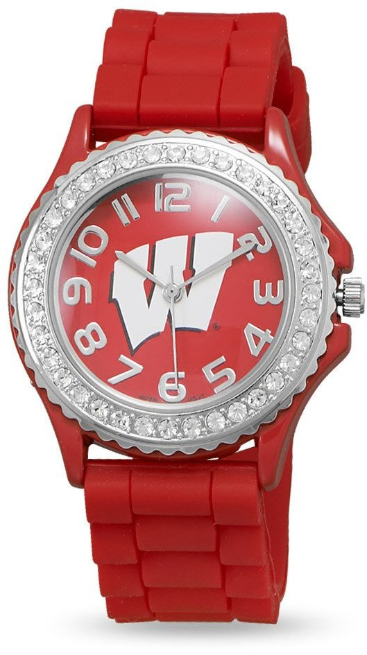 Collegiate Licensed University of Wisconsin Ladies' Fashion Watch