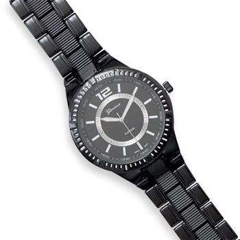 Black Metal Men S Watches