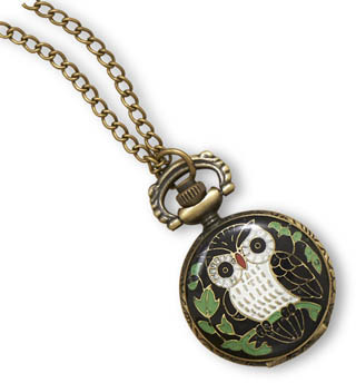 "32"" Owl Fashion Necklace Watch - DISCONTINUED"