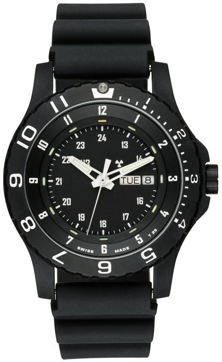 Traser Tritium Watch - Tactical Collection - P66 Type 6 Mil-G w/ Rubber Strap - 100376