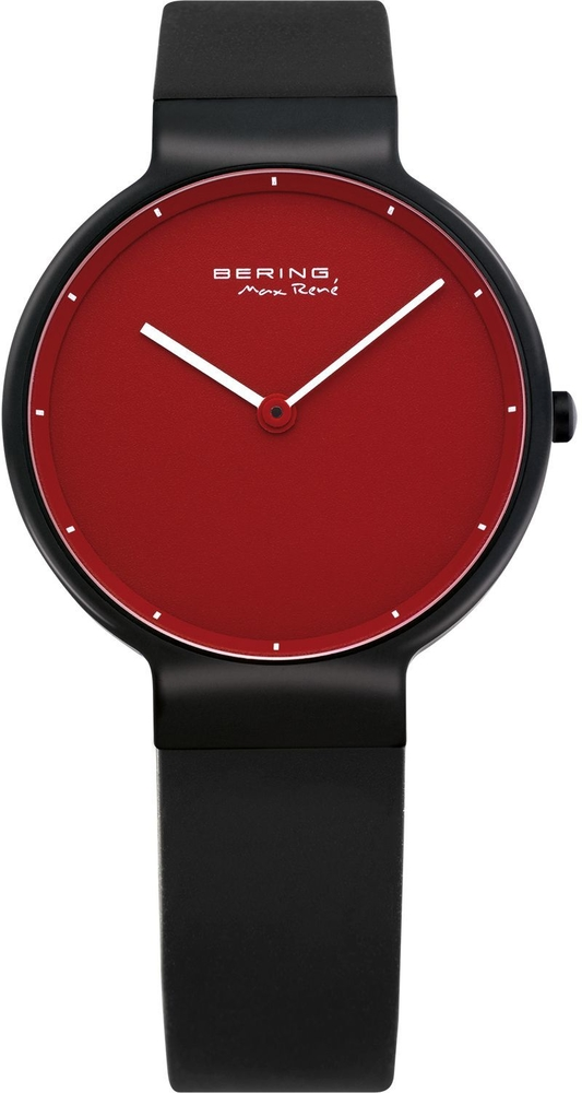 Bering Time - Classic - Ladies Calfskin Black Watch 12631-823 (Womens)